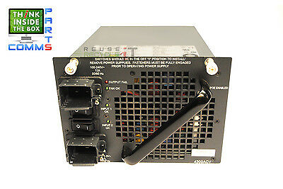 Cisco Pwr-C45-4200Acv Catalyst 4500 4200W Ac Power Supply *12 Month Warranty*