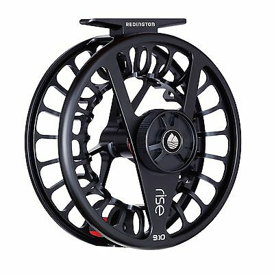 Redington RISE Fly Reel / Fliegenrolle - 7/8 - Black