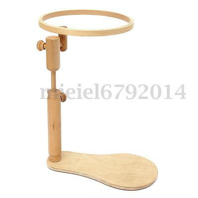 Solid Wooden Lap Seat Frame Tapestry Embroidery Hoop Elbesee For Cross Stitch