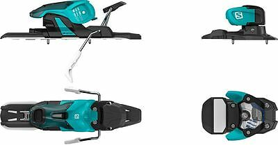 Salomon Warden 11 2017 Ski Bindings Turquoise / Black 100mm