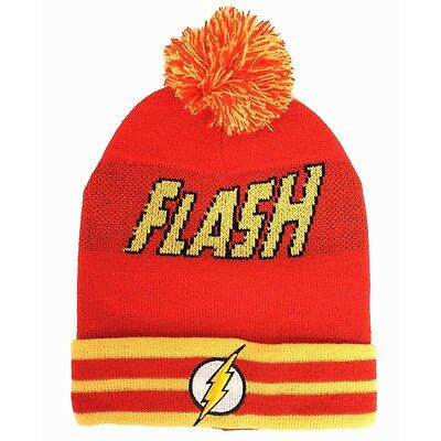 The Flash Beanie Hat with Bobble