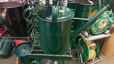 HAWS 8.8 Litre Metal Traditional Can - Green
