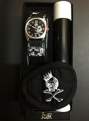 Set of 3 Just Kids Pirate Design Watch Patch & Microscope Gift Set Accessories