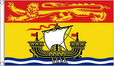 5' x 3' New Brunswick Flag Canada Canadian Province Banner