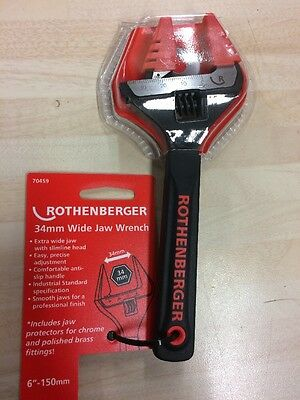Rothenberger 34mm Wide Jaw Wrench