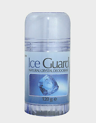 Ice Guard Twist Up Natural Crystal Deodorant 120g