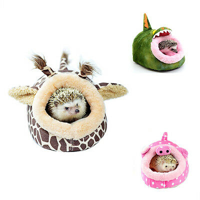 Hammock Small Animal Rat Hedgehog Squirrel House Bed Nest With Pad For Cage