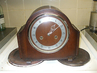 Antique Smiths Enfield mantel clock for minor tlc