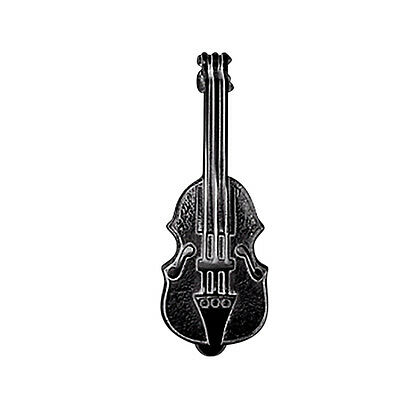 Door Knocker Violin Black Cast Iron 6 1/2 H x 2 1/2 W | Renovators Supply