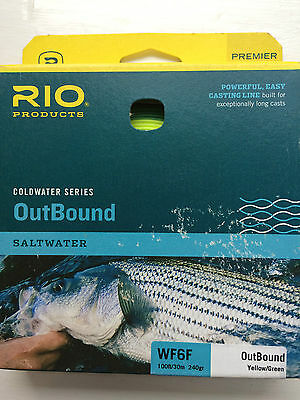 Rio Outbound  WF 6 F Saltwater  Fly line