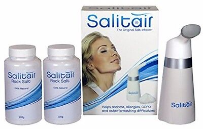 Additional Salt Therapy Inhaler for Asthma and Allergies