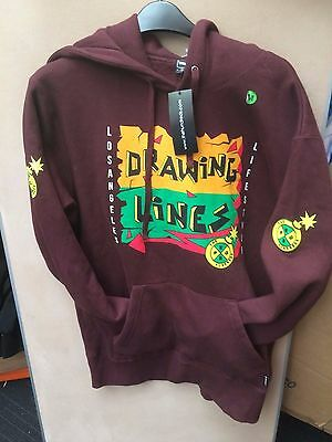 The hundreds drawing lines pullover hoodie 349