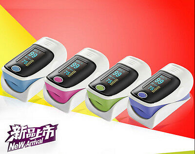 OLED Finger Pulse Oximeter With Case Retail of Case