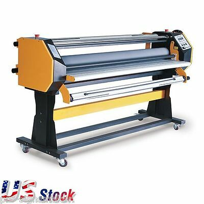 """USA - 67"""" Full-auto Hot / Cold Laminator Large Format Stand Frame One Side"""