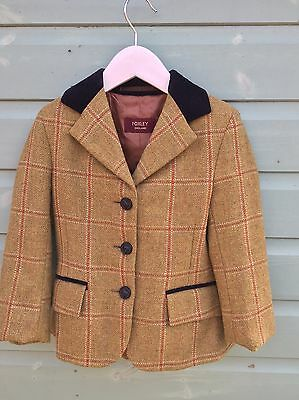 Mrs Candy / Foxley Lily Tweed Child's Showing Jacket 24""