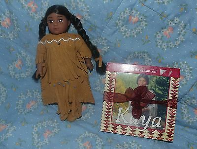 American Girl Kaya Mini Doll VERY Gently Used with Book