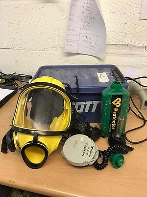 Scott Phantom Protector PPR2000 Full Face Masks - Asbestos ect