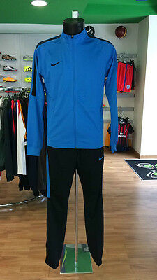 Football Suit Tracksuit Football Sideline Dry Squad Academy Training Blue 2017