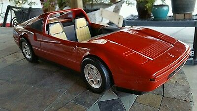 vintage barbie car lot of 1 RED FERRARI FREE SHIPPING