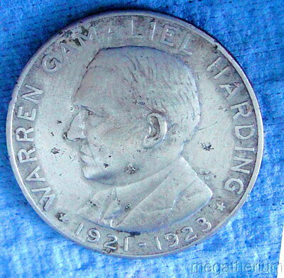 29th US President WARREN G HARDING Commemorative Coin / Token: 1865-1923