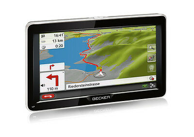 Becker READY 70 LMU Navigationssystem, 7 Zoll Display, Navigationsgerät, Navi