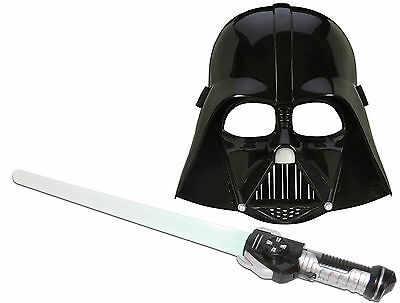 Laserschwert (rotem Licht)+ Maske Darth Vader Star Wars The Force Awakens Kostüm