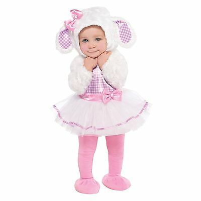 Toddler Baby Babies Lamb Sheep Easter Fancy Dress Costume Complete Outfit Infant