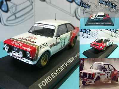 coche car voiture  Ford Escort RS 1800   Rally Portugal 1983  Ixo/Altaya 1:43