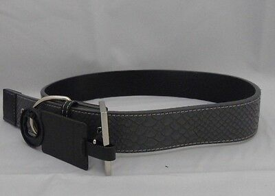 Brand New High Quality Pets At Home Grey Snake Print Luxury Dog Collar Size L