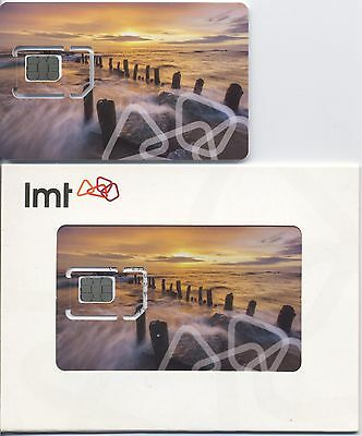 LATVIA  LMT operator / GSM SIM card /New,wrapping / for collection!