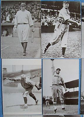 Vintage Postcards Lot 31 Great Baseball Players Of The Past Picture No Dup's