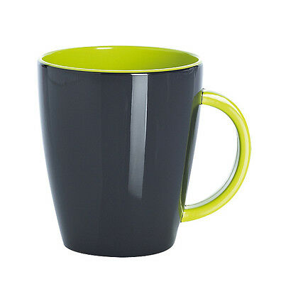 Quest Lime Mug Melamine / Lightweight / Tough / Camping / Caravan / Outdoor Use
