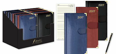 2017 Pocket Premium Diary With Pen Week To View