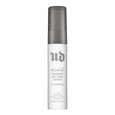 URBAN DECAY De-slick oil control make-up setting spray 30ML BNIB