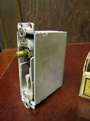 Vintage Hubbell Door Switch Single Pole With Outlet Box 125v 6 Amp 250V 3 Amp.