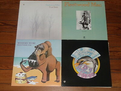 4 LP FLEETWOOD MAC LOT Penguin - Future Games - Mystery to Me - Bare Trees VG+++