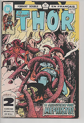 THOR #119/120 french comic français EDITIONS HERITAGE