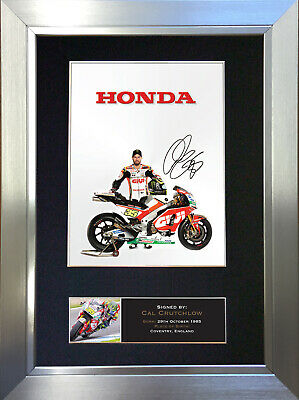 CAL CRUTCHLOW Signed Autograph Mounted Photo Repro A4 Print 628