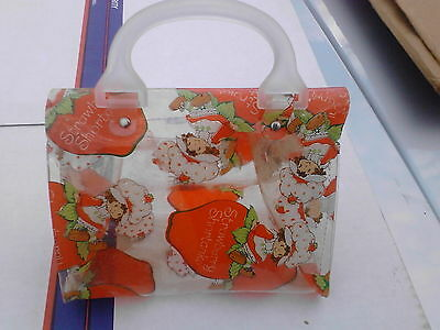 Strawberry Shortcake Purse Pocketbook Plastic Vintage 70's? NEW! RARE!