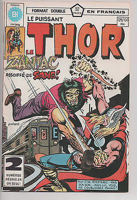 THOR #129/130 french comic français EDITIONS HERITAGE