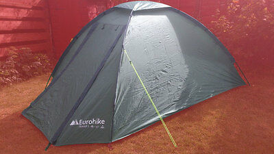 Eurohike Tamar 2 Man Person Berth Outdoor Waterproof Festival Camping Dome Tent