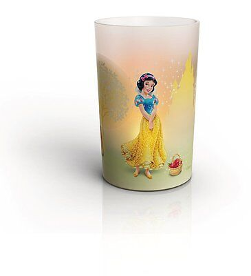 Philips Disney Princess LED Candle Lamp Children's Night Light Snow White, New