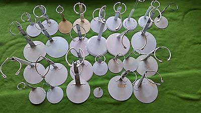 Doll Stand lot of 27 Large Metal white ginny vogue