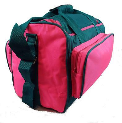 Vantage Single Pink/Teal Tenpin Bowling Ball and Shoes Bag - New