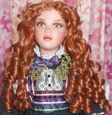 """1998 - Jan Mclean - 30"""" Porcelain Doll -  BEVERLY - Limited Edition - 133/500"""