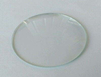 Round Convex Clock Glass Diameter 3 3/16'''