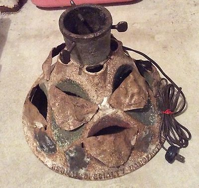 Antique Cast Iron Christmas Tree Stand, Herman's Specialty Mfg Co, Chicago