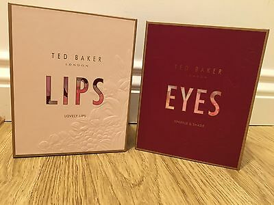 d0cce8d66a59 TED BAKER eyes and lips Make Up eyeshadow mascara eye pencil lipstick GIFT  SET