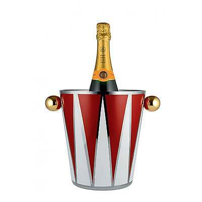 Alessi Circus - Wine Cooler in 18/10 Stainless Steel