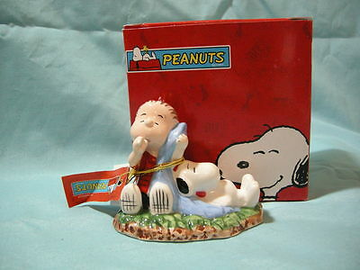 Westland Giftware PEANUTS Linus and Snoopy Figure #18230 *New in Box